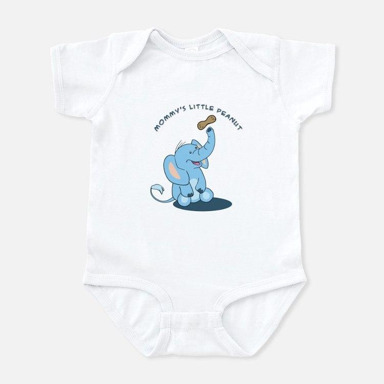 Mommy's little peanut - blue Infant Bodysuit
