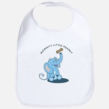 Mommy's little peanut - blue Bib