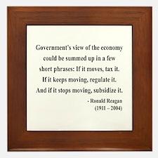 Ronald Reagan 1 Framed Tile