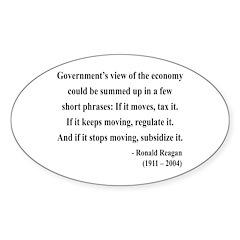 Ronald Reagan 1 Oval Decal