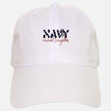 Navy Granddaughter Baseball Baseball Cap