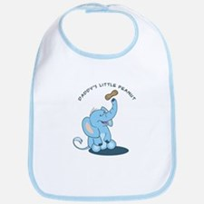 Daddy's little peanut Bib