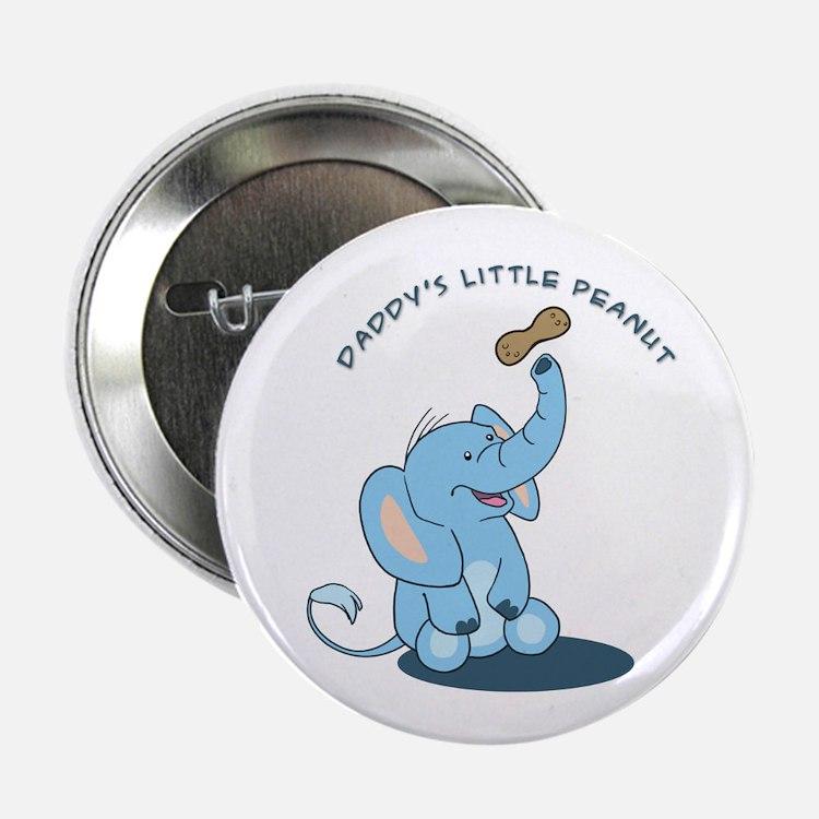 "Daddy's little peanut 2.25"" Button"