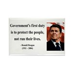 Ronald Reagan 2 Rectangle Magnet (100 pack)