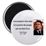 Ronald Reagan 2 Magnet
