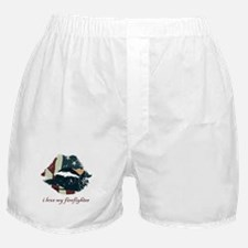 Firefighter Kiss Boxer Shorts