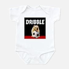 Soccer dog dribble Infant Bodysuit