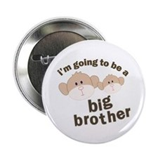 """big brother to be monkey 2.25"""" Button"""