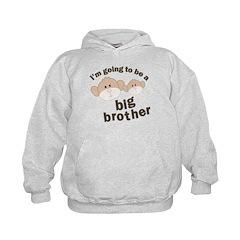 big brother to be monkey Hoodie