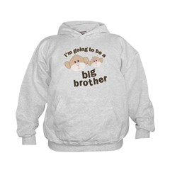 big brother to be monkey Hoodie
