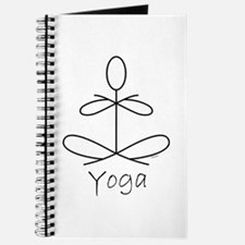 Yoga Glee In White Journal