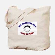 ALL AMERICAN BOY Tote Bag