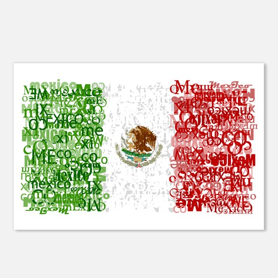 Textual Mexico Postcards (Package of 8)