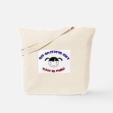 ALL AMERICAN GIRL Tote Bag