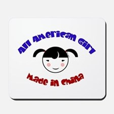 ALL AMERICAN GIRL Mousepad