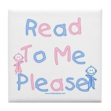 Read to Me Babies Tile Coaster