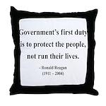 Ronald Reagan 2 Throw Pillow