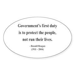 Ronald Reagan 2 Oval Decal