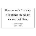 Ronald Reagan 2 Rectangle Sticker