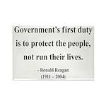 Ronald Reagan 2 Rectangle Magnet