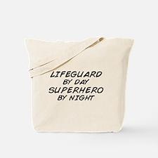 Lifeguard Superhero by Night Tote Bag