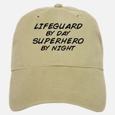Lifeguard Superhero by Night Baseball Baseball Cap