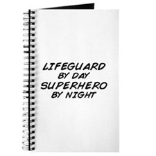 Lifeguard Superhero by Night Journal