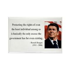 Ronald Reagan 3 Rectangle Magnet