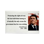 Ronald Reagan 3 Rectangle Magnet (100 pack)