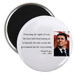 Ronald Reagan 3 Magnet