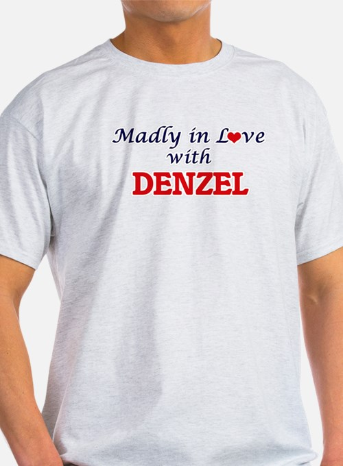 Madly in love with Denzel T-Shirt