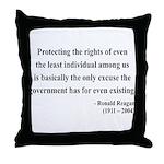 Ronald Reagan 3 Throw Pillow