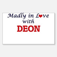 Madly in love with Deon Decal