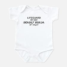 Lifeguard Deadly Ninja by Night Infant Bodysuit