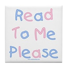 Read to Me Tile Coaster