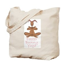 Yoga Bunny Tote Bag