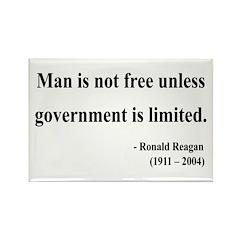 Ronald Reagan 4 Rectangle Magnet