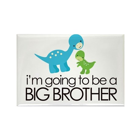 i'm going to be a big brother dinosaur Rectangle M