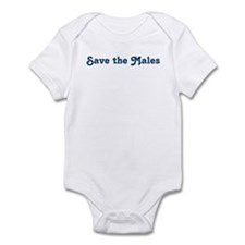 Save the Males Infant Bodysuit