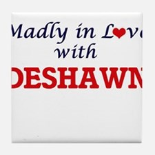 Madly in love with Deshawn Tile Coaster