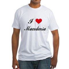 I Love Macedonia Shirt