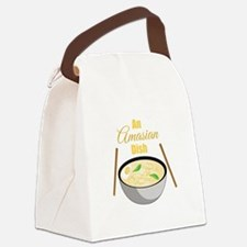 Amasian Dish Canvas Lunch Bag