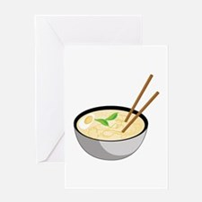 Pho Soup Greeting Cards