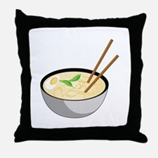 Pho Soup Throw Pillow
