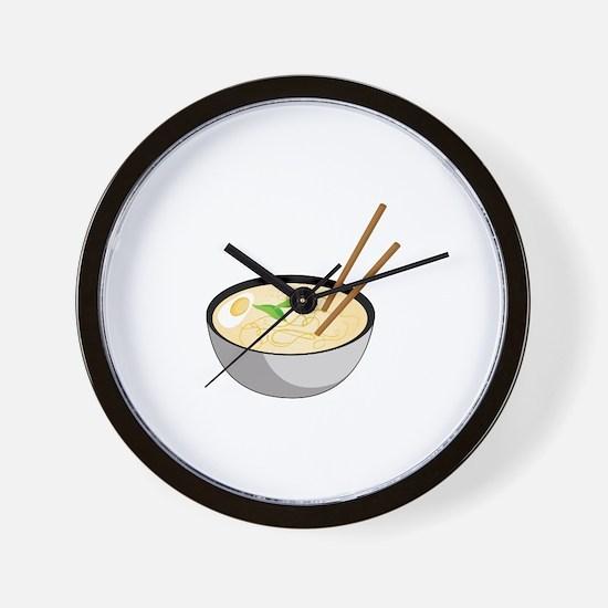 Pho Soup Wall Clock