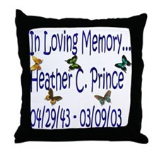 HCP Loving Memory Throw Pillow