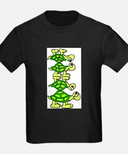 STACK OF TURTLES T