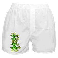 STACK OF TURTLES Boxer Shorts