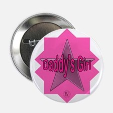 "Daddy's Girl (Star) 2.25"" Button (10 pack)"