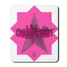 Daddy's Girl (Star) Mousepad